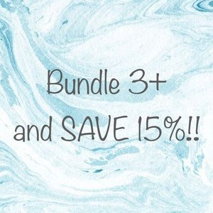 Other - BUNDLE 3 OR MORE, SAVE 15%!